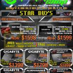 Shop Notebooks Gigabyte ROG G551vW, Gigabyte P55G, P15F, P55K, GL552, P55W, AW15, G752