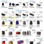 Accessories Mouse, Keyboards, Backpacks, Toploads, Totebags, Sleeves, Power Packs