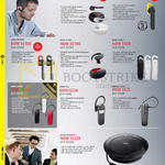 Bluetooth Headsets Eclipse, Steel, Stealth, Stone3, Boost, Classic, Talk, Bt 2046, Speak510 Speakers