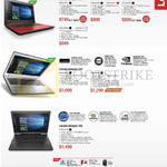 Notebooks Ideapad 310, 510, 700
