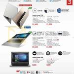 Notebooks Ideapad 710S, 510S, 100S