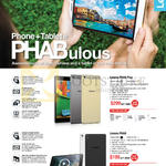 Phablets Phone Tablet Phab Plus, Phab