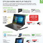 Tablets Miix 700, Miix 310