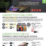 Tablets Yoga Tab 3 Pro, Yoga Tab 3 8
