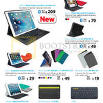Keyboards Cases, IPad Pro, IPad Mini, Folio, Keyboards K480 K380