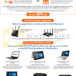 Fibre Broadband For Home Business, Router Upgrades, HP Products, SOHO 1Gbps, Asus RT-AC68U, RT-AC88U Routers, HP Pavilion 14-ab170TX, Envy 13-d022TU Notebook