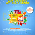 M1 Prepaid 500MB Free Data With SIM Card Purchase