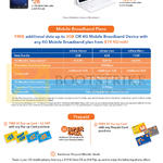 M1 Tablets, Mobile Broadband Plans, Prepaid, Samsung Galaxy Tab A, TabPro S 4G Plus, MData Value Plus, Lite Plus, Max Plus, Free Top Up Card, Alcatel 2045X, Pixi 3
