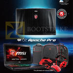 Notebooks GE62 Apache Pro, Booth Locations, Challenger, Gamepro