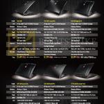 Notebooks GL62 6QD, GP62 6QF Leopard Pro, GE62 6QF Apache Pro, GE72 6QF Apache Pro, GS72 6QE Stealth Pro, GT72S 6QE Dominator Pro G