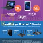 Fibre Broadband 1Gbps Bundles Asus Vivobook E200HA, Samsung Tab A T285, Asus N56U, AC66U, AC88U Router