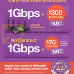 Fibre Broadband 49.99 1Gbps, 59.99 No Contract 1Gbps Fibre Broadband, Asus RT-AC88U Router