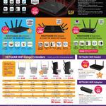 Routers, Range Extenders, Wifi Adapters, Nighthawk X4S, X8, X6, X3, EX2700, EX3700, EX6120, EX6200, EX7000, R6220, A6210