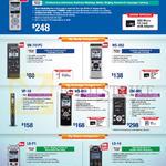 Voice Recorders DM-720, VN-741PC, WS-852, VP-10, WS-853, DM-901, LS-P1, LS-14