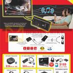 Wireless Audio BT Audio Transceiver, 2 Way Splitter, Audio Streaming Combo Pack, S350, S360 BT Headset, Digital Audio Converter