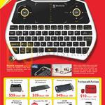 Wireless Keyboards Mini Multimedia RF, Touchpad Plus RF, Handy RF, Palmtop II, Presenter Pro 800, 420RF