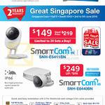 SGVideoPro IP Cameras SmartCam SNH-E6411BN, E6440BN