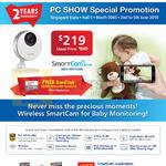 SGVideoPro IP Cameras Smartcam HD Pro SNH-P6410BN
