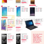 Mobile Phones Asus Zenfone Max ZC550KL, HTC One A9, Huawei Mate 8, Oppo R9, R9 Plus, F1, Samsung Galaxy Note 5, TabPro S, Sony Xperia Z5, Z5 Premium
