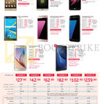 Singtel Mobile Phones, Combo Plans, Huawei P9, LG G5, X Screen, Blackberry Priv, Samsung Galaxy Z7 Edge, S7, S6, Tab A 2016 7.0, Combo 1, 2, 3, 4, 6, 12