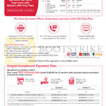 Singtel Mobile SIM Only Plans, Instalment Payment Plans, Combo 2, 3