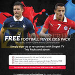 Singtel TV Free Football Fever 2016 Pack