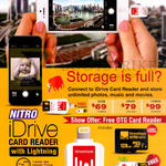 Nitro IDrive Card Reader With Lightning