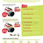 Bandit Action Cam Base Pack, Tomtom Bandit Premium Pack