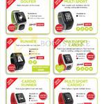 GPS Sport, Golf Watches, Golfer, Multi Sport, Runner, Multi Sport Cardio, Cardio Runner, Multi Sport Cardio
