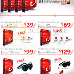 Trend Micro Maximum Security 10 1, 2, 3, 5 Devices 1 Year Subscription