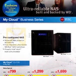 My Cloud NAS Business Series 0TB, 8TB, 16TB