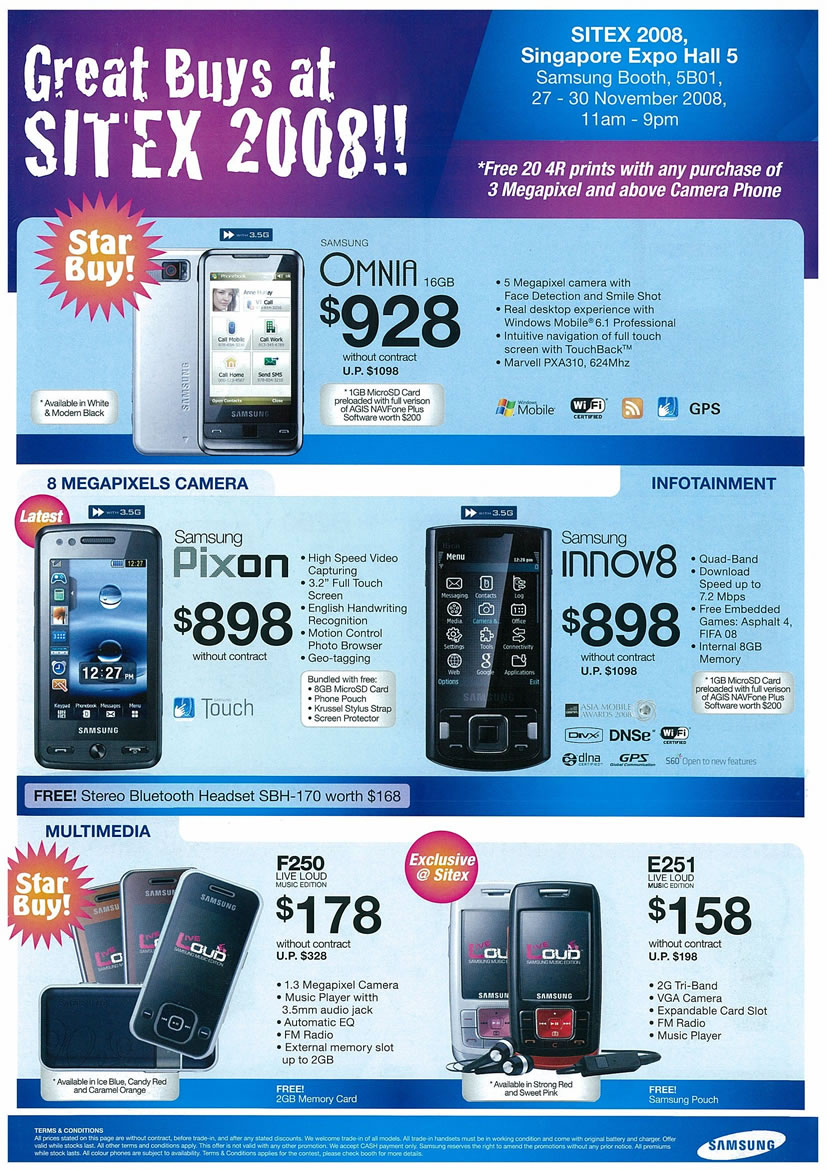 samsung mobile page 1 vr zone tclong sitex 2008 price list