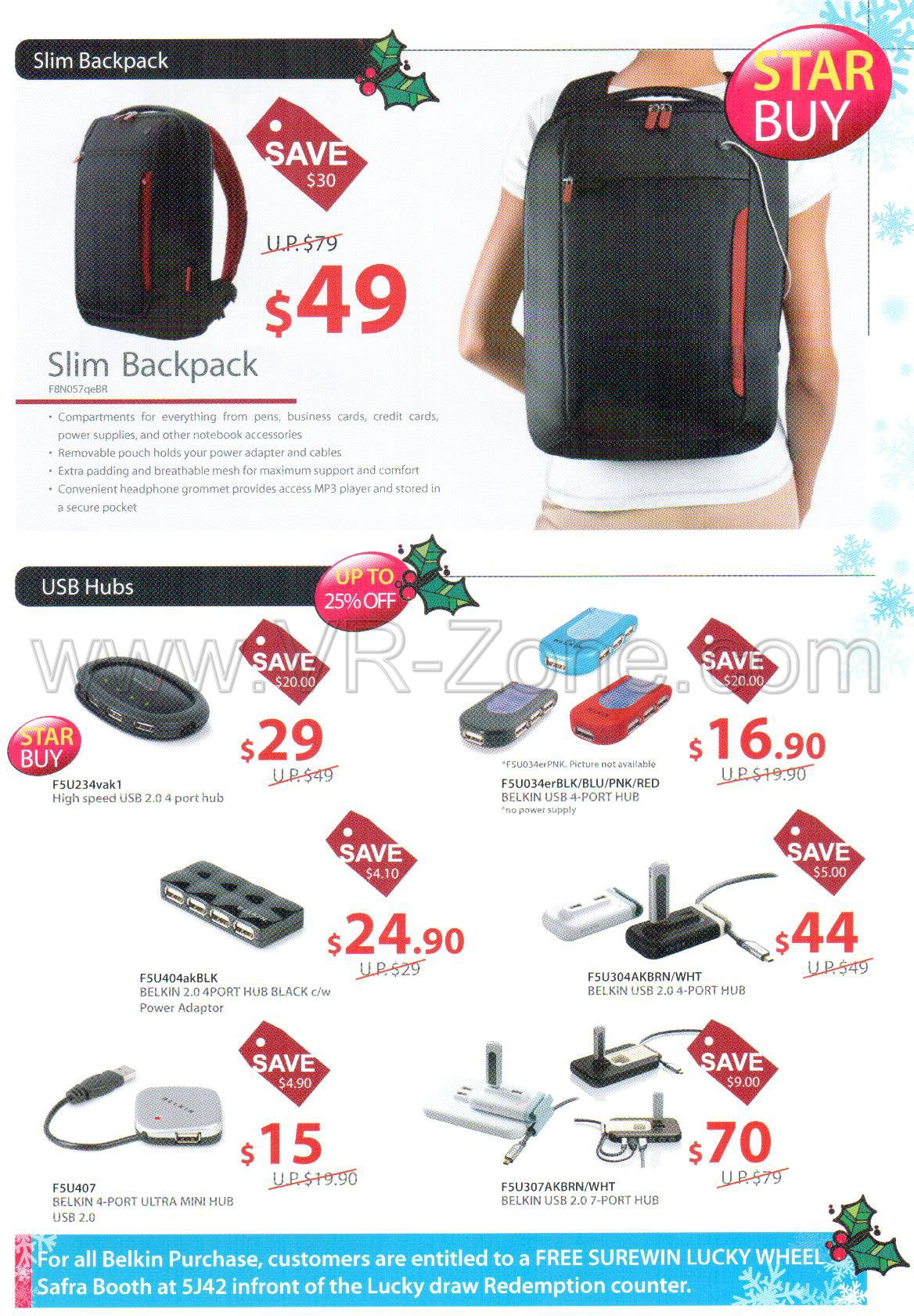 Sitex 2008 price list image brochure of Belkin 3