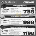 Gateway Notebooks LT3105g F83T F8TR Newstead