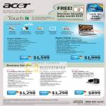 Aspire Touch PC Z5600 Z5610 Business Notebook TravelMate Veriton