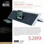Altec Lansing IMT 620 Portable Stereo For IPhone IPod