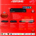 Astone Media Players USB HD Network Portable 1080p