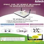 3G Wireless N Router HW550 3G