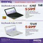Joybook Lite U121 Eco U101 Notebooks Netbooks