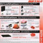 DriveStation MiniStation MediaStation External Storage Drive DVD Writer