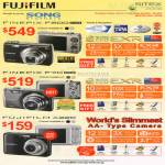 Song Brothers FinePix F200 F70 A2200 Digital Cameras