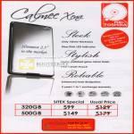Fujitsu Calmee Xena Portable External Storage Drive