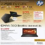 Business Mini 5101 Compaq 510 Notebook PC