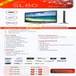 LCD TV SL80