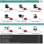 Kaira Webcam C600 C500 C250m C200 C120 C905 ClearChat