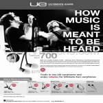 Ultimate Ears TripleFi SuperFi MetroFi LoudEnough