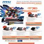 Notebook Gaming GT740 GT640 GT628 EX460
