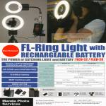 Manda Photo Services FL Ring Light Battery Accessories