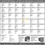 Refurbished Laptops Accessories Acer Fujitsu IBM HP Toshiba Dell