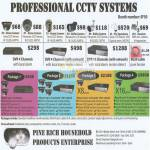 Pinerich Professional CCTV Systems Sony Panasonic CCD DVR